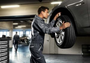 BMW шиномонтаж