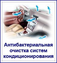 антибактериальная очистка систем кондиционирования