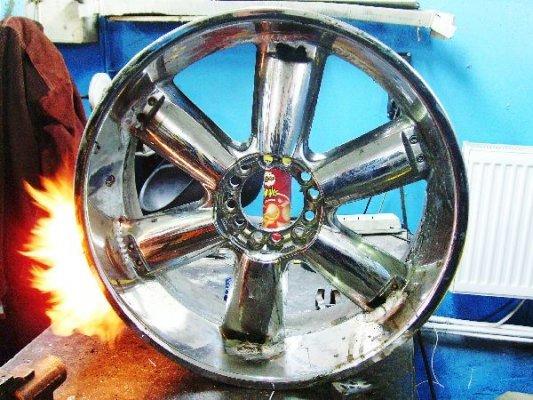 Сварка литых дисков аргоном