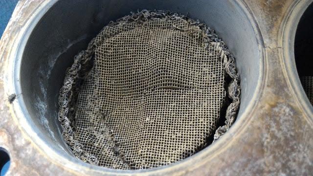 удаление катализатора из системы отвода выхлопных газов